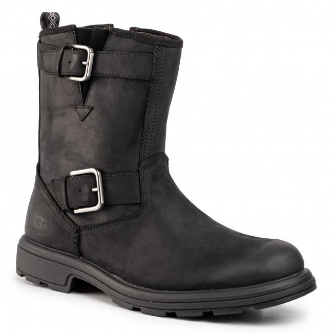 nya foton ny livsstil storlek 7 Knee High Boots UGG - M Biltmore Moto Boot 1106808 Blk - Jackboots ...