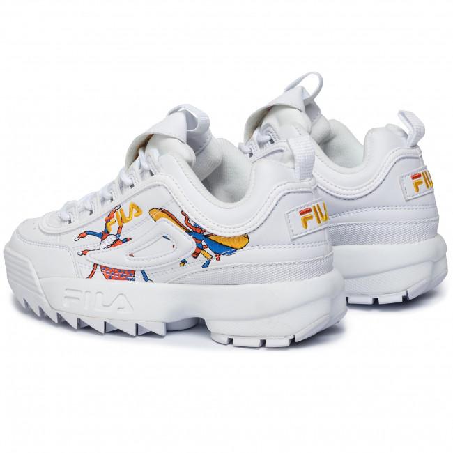 szerokie odmiany jak kupić najniższa cena Sneakers FILA - Disruptor Calabrone Low Wmn 1010609.90A Calabrone