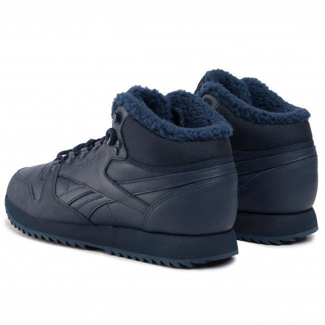 Histérico Depender de Habubu  Shoes Reebok - Cl Lthr Mid Ripple Mu FU9130 Conavy/Conavy/Croyal - Sneakers  - Low shoes - Men's shoes   efootwear.eu