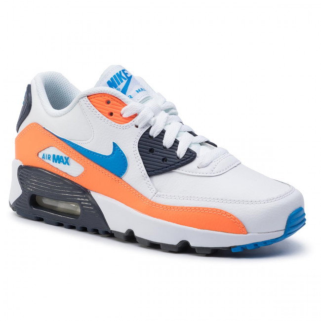 huge selection of great quality excellent quality Shoes NIKE - Air Max 90 Ltr (GS) 833412 116 White/Photo Blue/Total ...