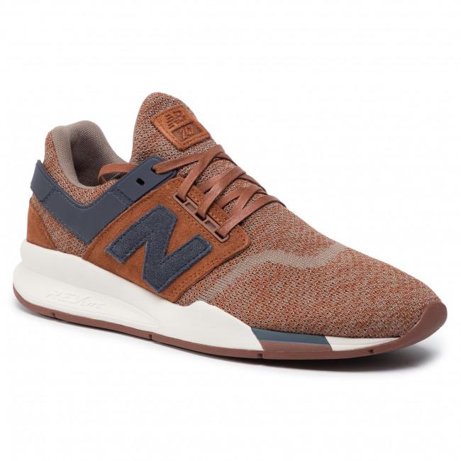 new balance 247 marron