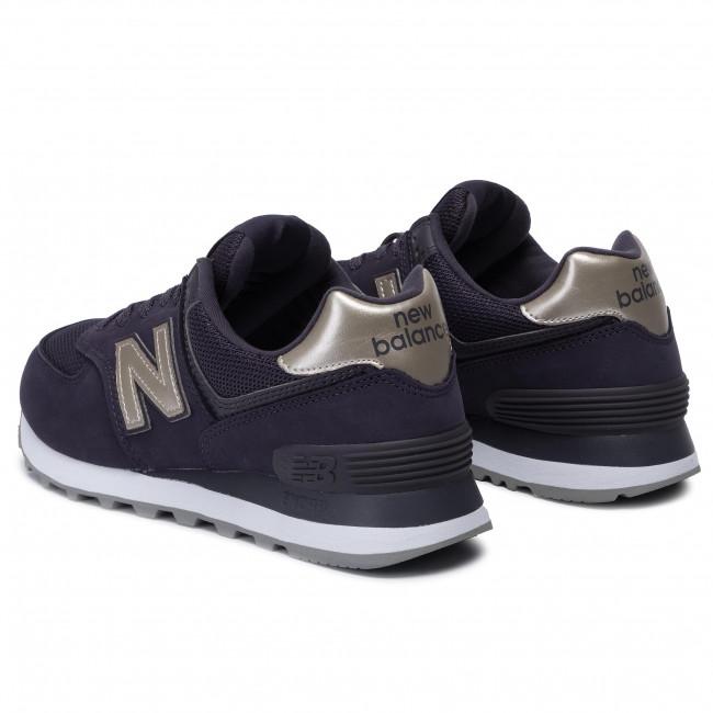 wyprzedaż resztek magazynowych nowe przyloty klasyczny styl Sneakers NEW BALANCE - WL574WNM Purple