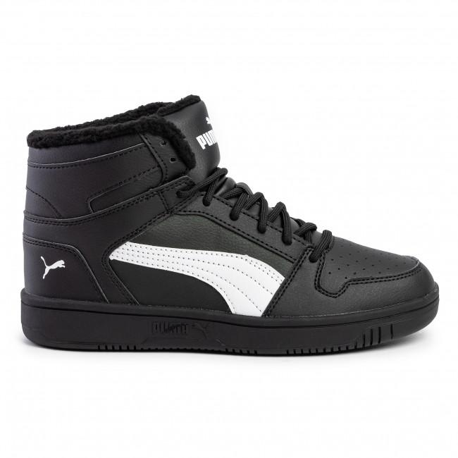 Sneakers PUMA Rebound Layup Sl Fur 369830 01 Puma BlackPuma White