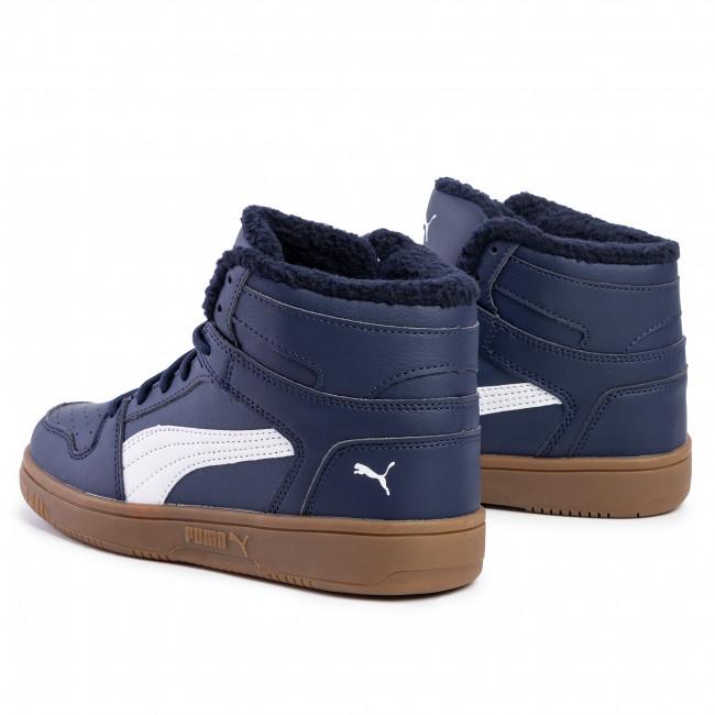 Sneakers PUMA Rebound Layup Sl Fur 369830 02 PeacoatPuma WhiteGum