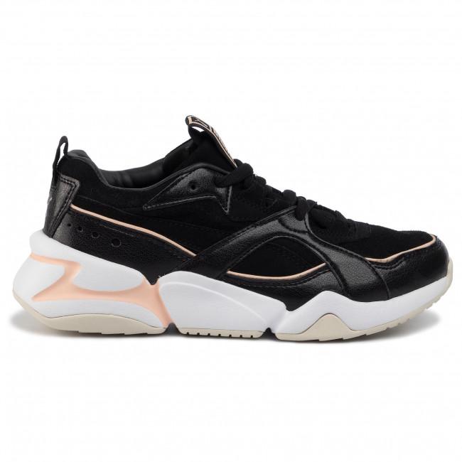 Sneakers PUMA Nova 2 Suede Wn's 37095901 01 Puma BlackPeach Parfait