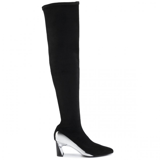 Over Knee Boots UNITED NUDE Molten Flow Thigh Boot Mid 104810106 Black