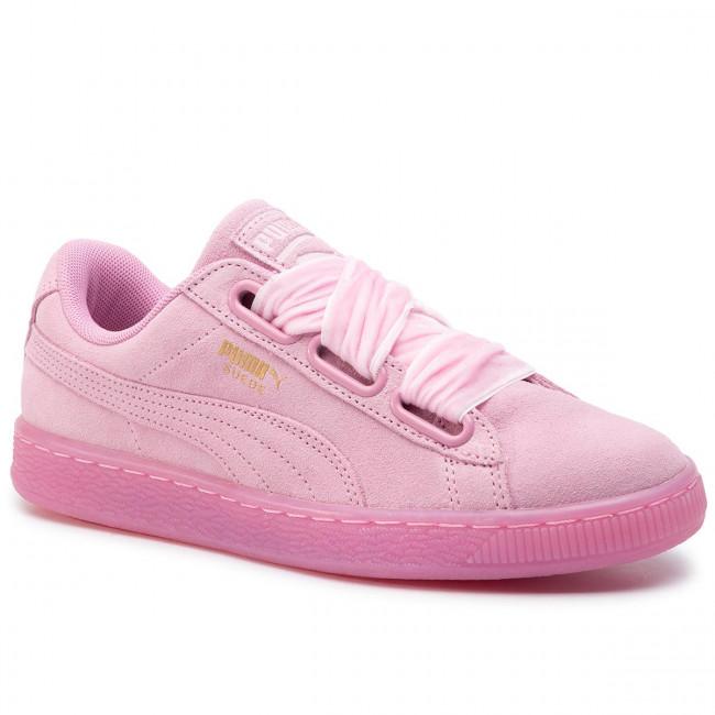 pretty nice c91b8 afdad Sneakers PUMA - Suede Heart Reset Wn's 363229 02 Prism Pink/Prism Pink