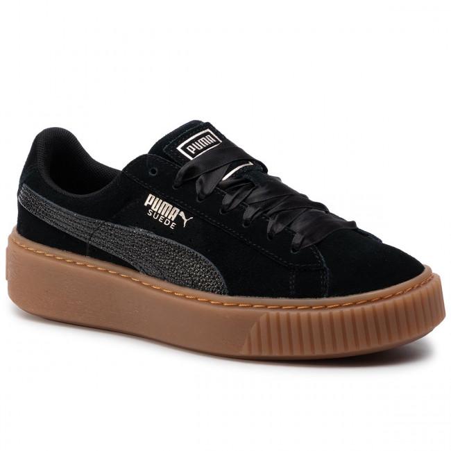 23231ec2f9 Sneakers PUMA - Suede Platform Bubble Wn's 366439 Black