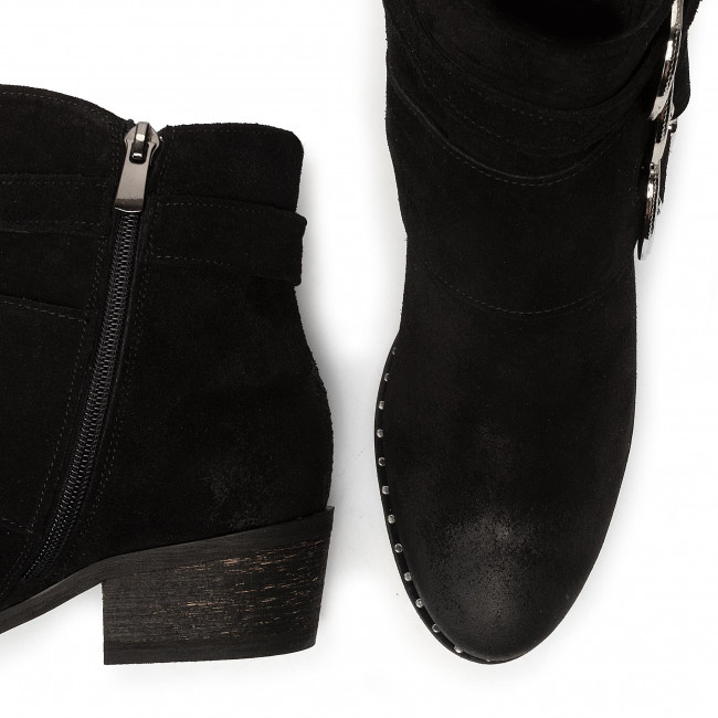 Boots Oleksy - 2725/e12/000/000/000 Black High And Others Women's Shoes
