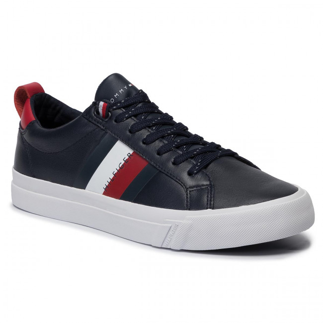 Details zu Tommy Hilfiger Leather Sneaker