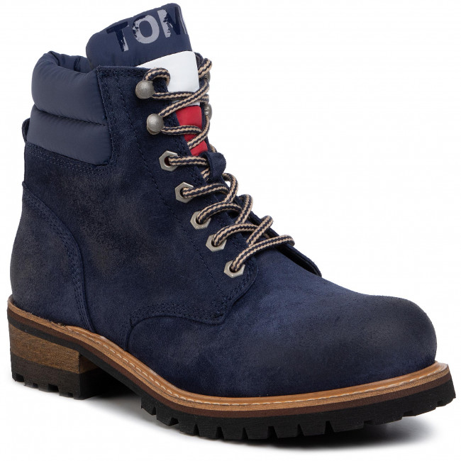 Hiking Boots TOMMY JEANS - Suede Lace
