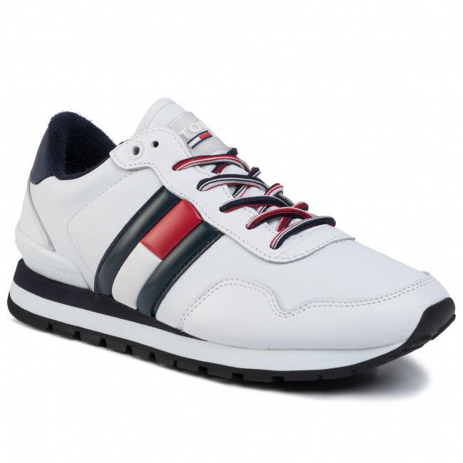 Sneakers TOMMY JEANS - Leather