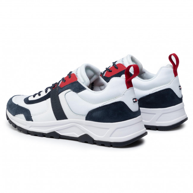 Sneakers TOMMY HILFIGER Fashion Mix Sneaker FM0FM02389 White YBS