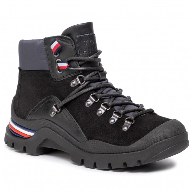 Boots TOMMY HILFIGER Corporate Outdoor Boot FM0FM02414 Black 990