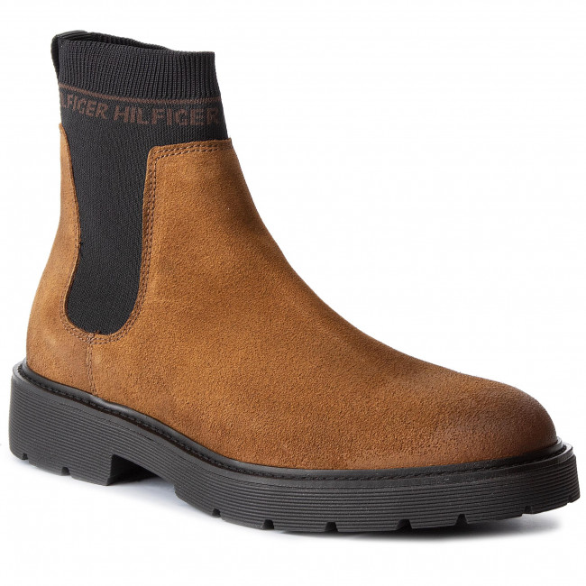 Ankle Boots TOMMY HILFIGER - Suede