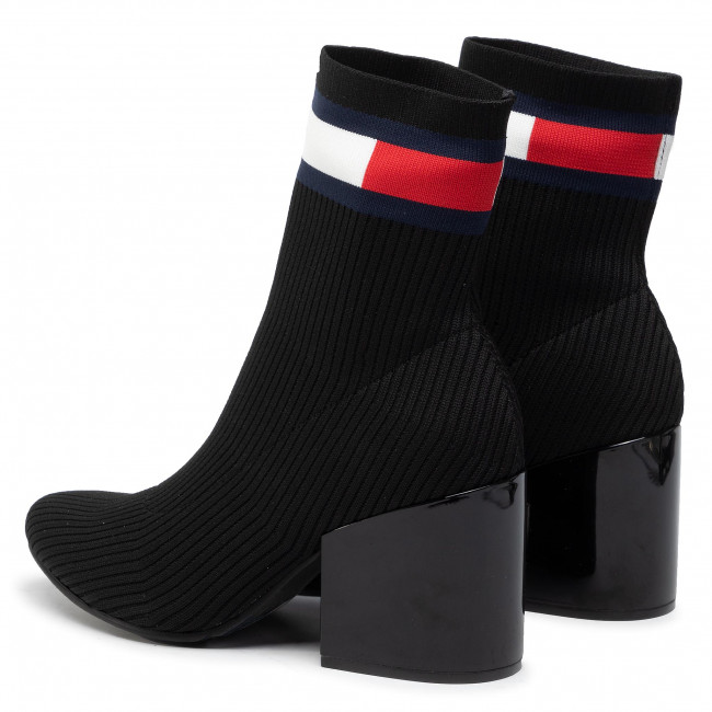 sock boots medium heel