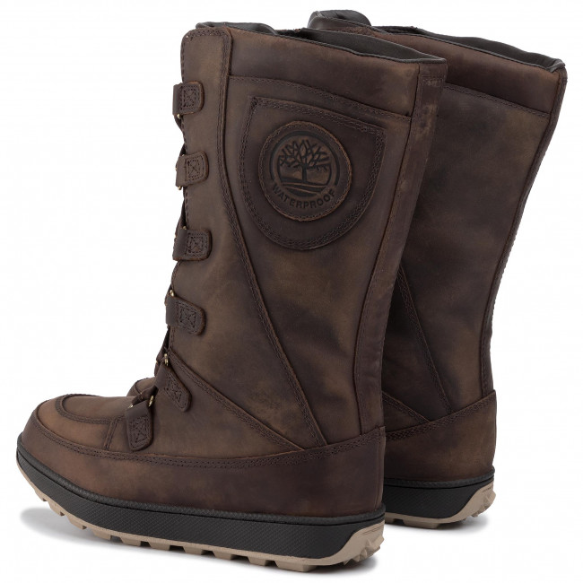 Fugaz Anormal Pronunciar  Snow Boots TIMBERLAND - Mukluk 8 in Waterproof Boot TB076916214 Md Brown  Full Grain - Winter boots - High boots and others - Women's shoes    efootwear.eu