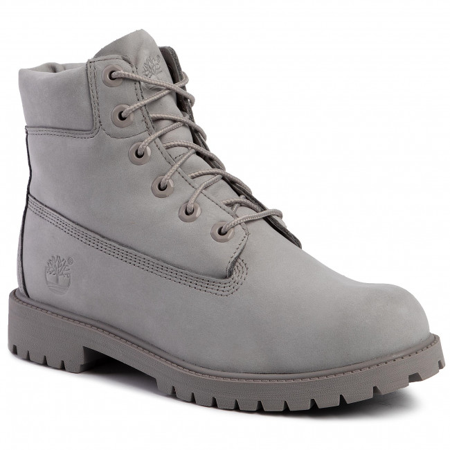 Colonos Resonar sonido  Hiking Boots TIMBERLAND - Premium 6 In Waterproof Boot TB0A172F0651 Medium  Grey Nubuck - Trekker boots - High boots and others - Women's shoes    efootwear.eu