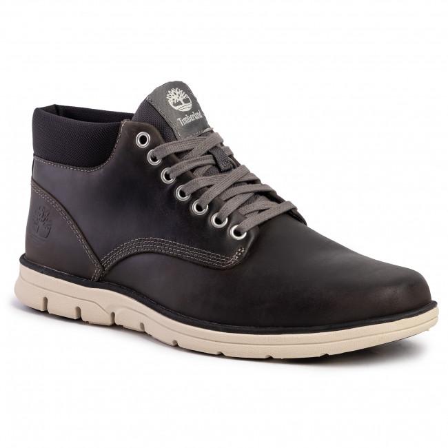 Boots TIMBERLAND Bradstreet Chukka TB0A1K52060 Dark Grey Full Grain