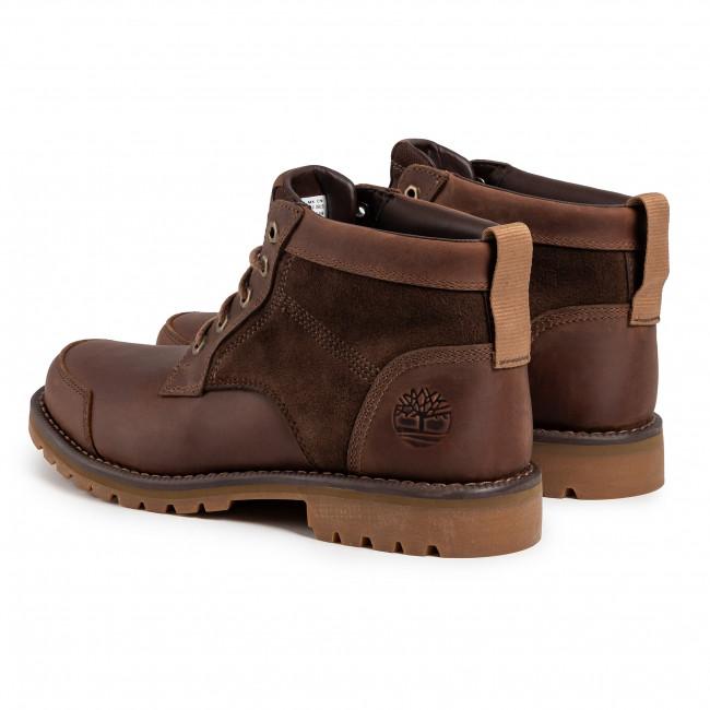 Hiking Boots TIMBERLAND Larchmont Chukka TB0A10JM200 Dk Brown Full Grain