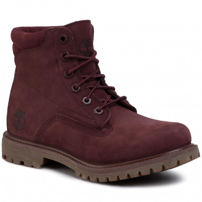 Hiking Boots TIMBERLAND Waterville 6 In Waterproof Boot TB0A1R2TC601 Burgundy Nubuck