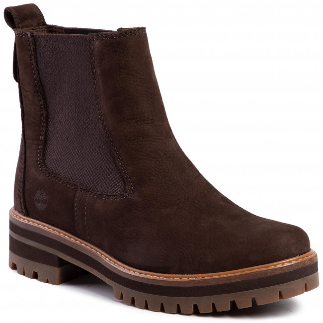 Ankle Boots TIMBERLAND Courmayeur Valley Chelsa TB0A23WUW821 Dark Brown