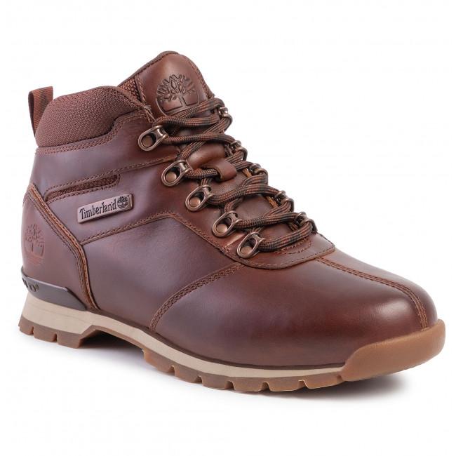 Trekker Boots TIMBERLAND Splitrock Mid Hiker TB0A246U140 Md Brown Full Grain