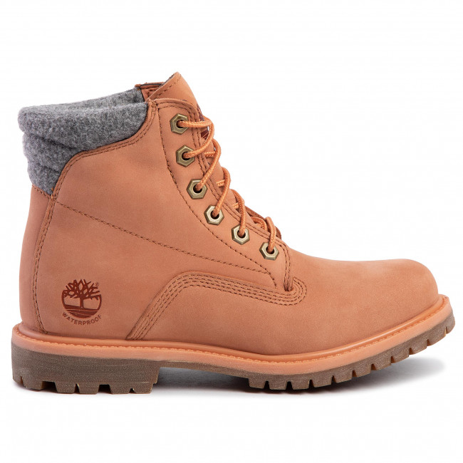 Hiking Boots TIMBERLAND Waterville 6 In Waterproof Boot TB0A26G3X891 Lt Orange Nubuck