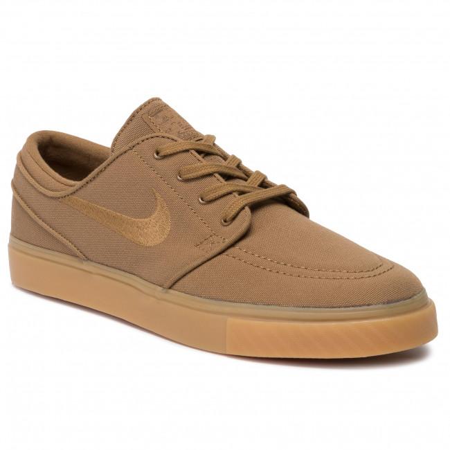 Shoes NIKE Zoom Stefan Janoski Cnvs 615957 204 Golden BeigeGolden Beige