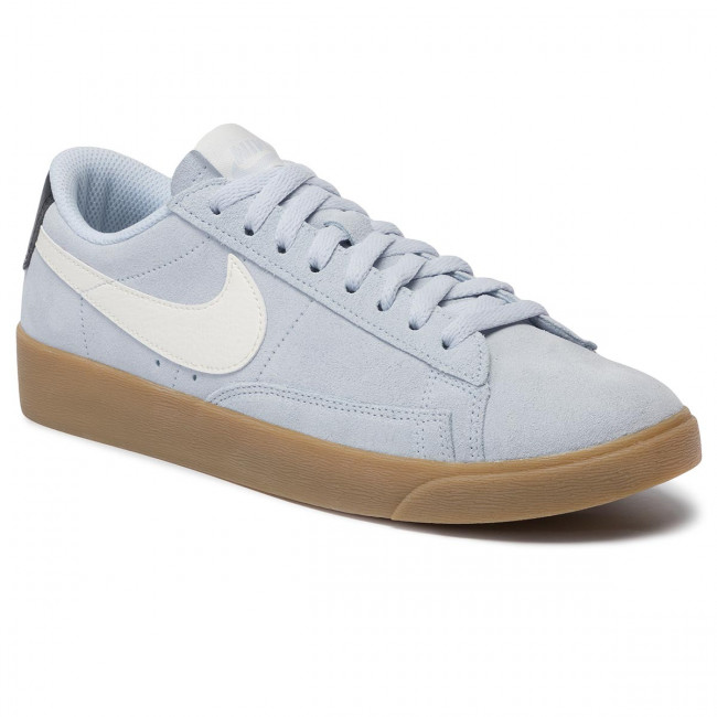 new concept f1bfe 0f53f Shoes NIKE - W Blazer Low Sd AV9373 400 Half Blue/Sail Oil Grey