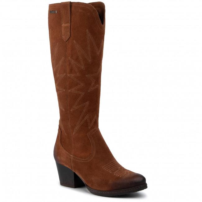 Knee High Boots SIMEN - 2170A W.Rudy/L.Sahara Brąz