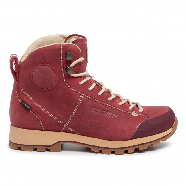 Trekker Boots DOLOMITE Cinquantaquattro High Fg W Gtx GORE TEX 268009 0910005 Burgundy Red