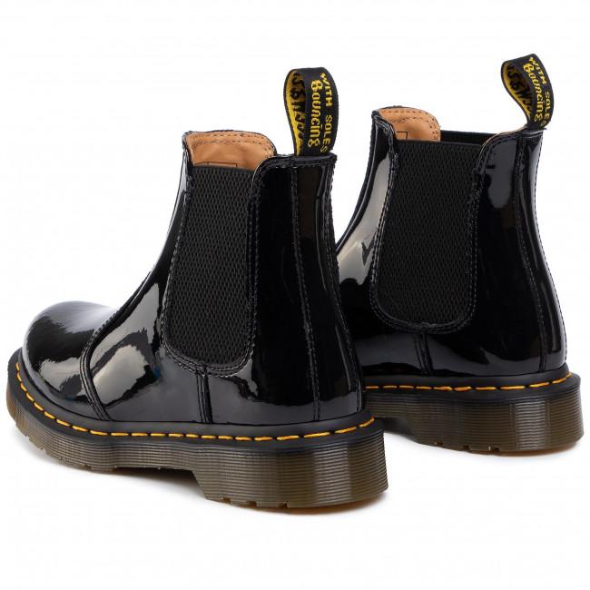 Dr. Martens Boots | WomensMens 2976 PLATFORM BLACK POLISHED