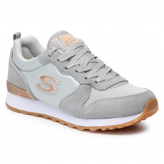 Oso Surtido Seguid así  Sneakers SKECHERS - Goldn Gurl 111/LTGY Light Gray - Sneakers - Low shoes -  Women's shoes | efootwear.eu