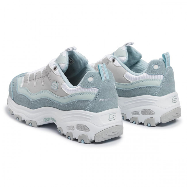 Sneakers SKECHERS D'lites Sure Thing 13141LBGY Light Blue DD7J2