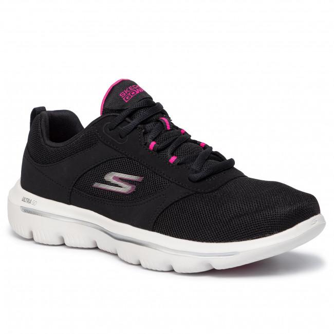 Shoes SKECHERS Go Walk Evolution Ultra Enhance 15734BKPK BlackPink