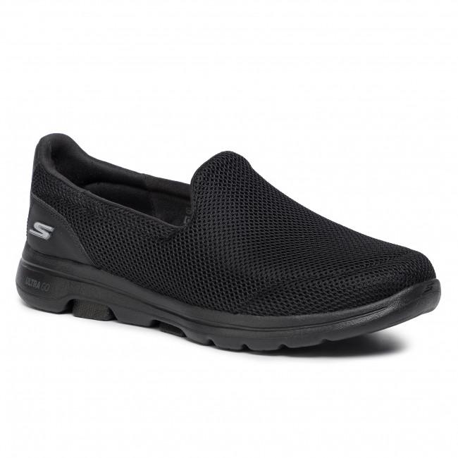 Shoes SKECHERS Go Walk 5 15901BBK Black Flats Low oxhAS