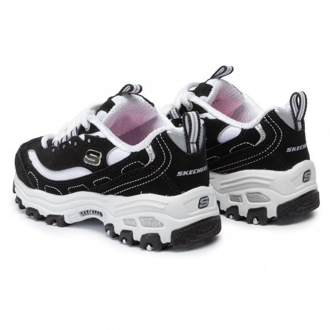 Sneakers SKECHERS D'lites Biggest Fan 80587LBKW BlackWhite