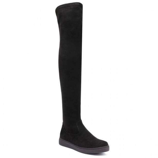 Over-Knee Boots SOLO FEMME - 95206-02-H87/000-12-00 Black