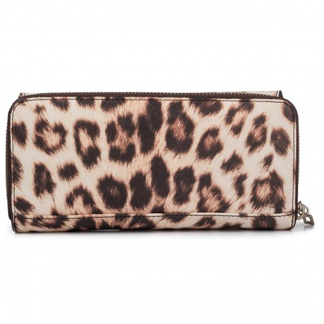 Guess Small Robyn Zip Leopard Geldtasche LEOPARD: