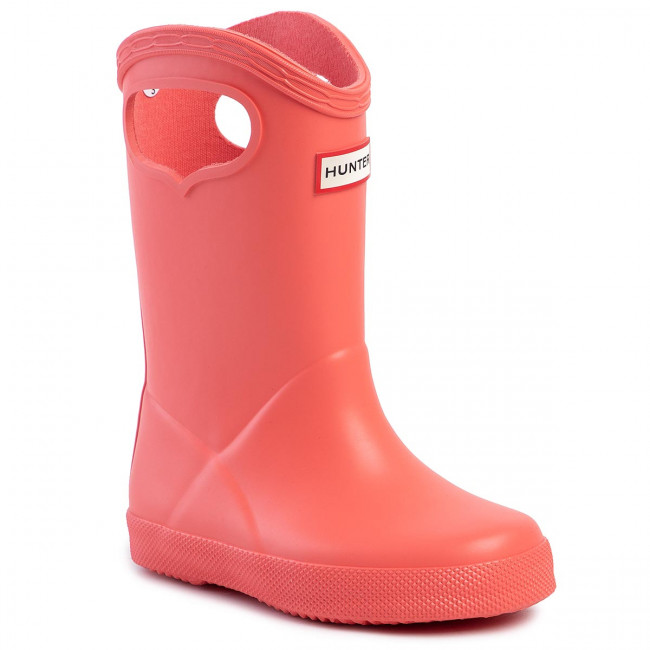 Wellingtons Hunter Kids First Classic Pull On Kft5036rma Pink Wellingtons High Boots And Others Girl Kids Shoes Efootwear Eu