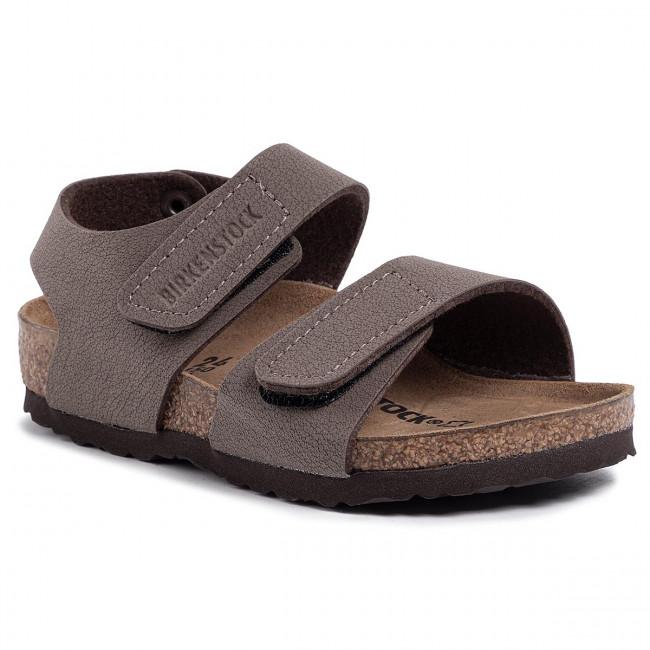 Sandals BIRKENSTOCK Palu Kids Logo Bs 1016525 M Mocca