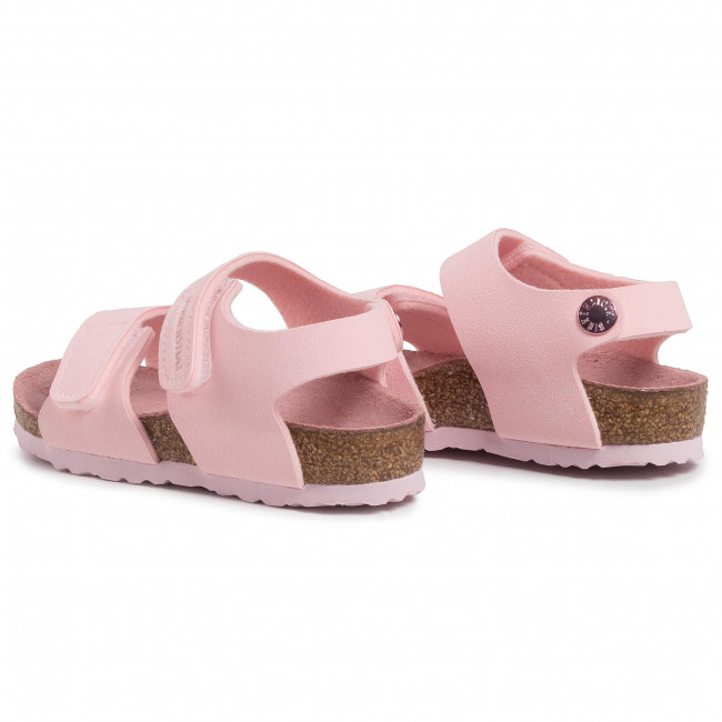 Sandals BIRKENSTOCK Palu Kids Logo Bs 1015409 Chalk Pink
