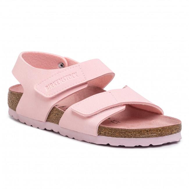 Sandals BIRKENSTOCK Palu Kids Logo Bs 1015409 Chalk Pink 1