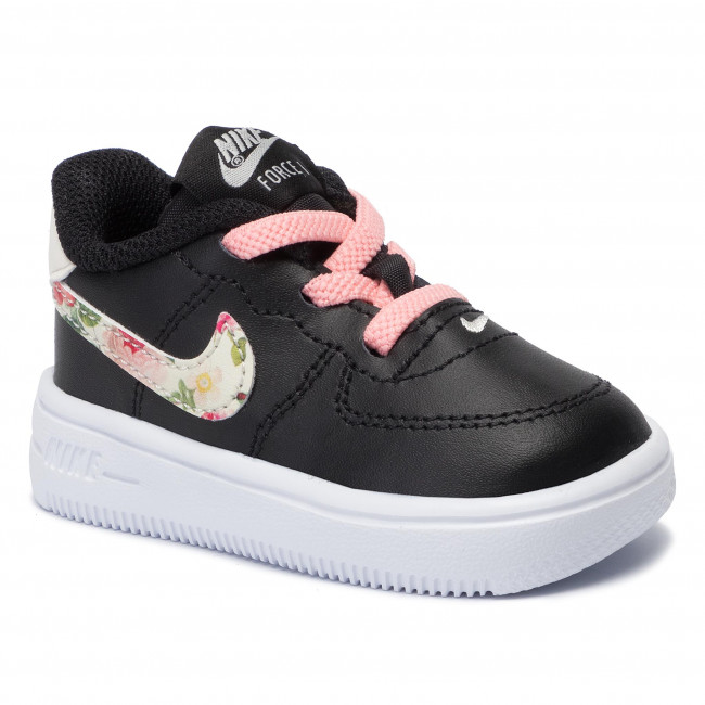 Shoes NIKE Force 1 '18 VF (TD) BQ2465 001 BlackPale IvoryPink Tint