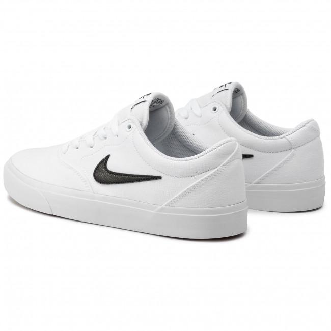 Shoes NIKE - Sb Charge Slr Txt CD6279 101 White/Black/White