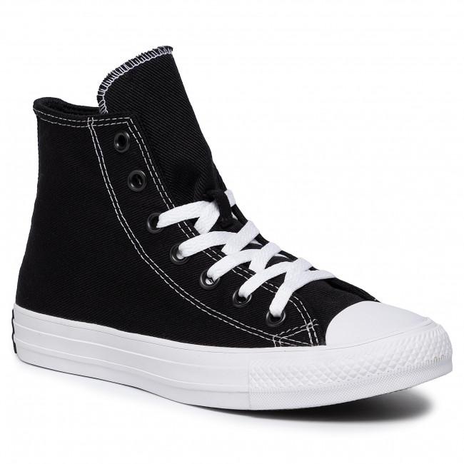 Sneakers CONVERSE Ctas Hi 165091C BlacjEnamel RedWhite