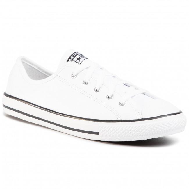 Sneakers CONVERSE Ctas Dainty Ox 564984C WhiteBlackWhite