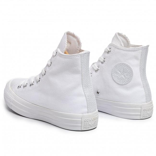 Sneakers CONVERSE Ctas Hi 565199C WhiteWhiteWhite