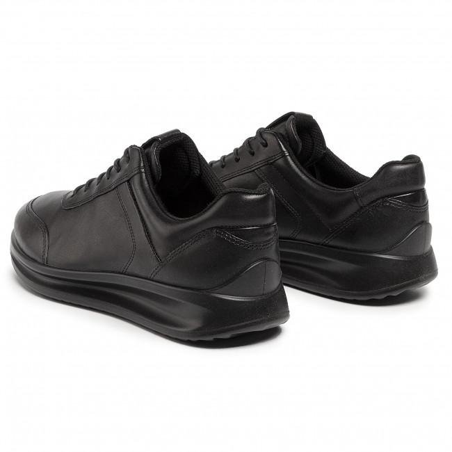 ECCO LACE black sneakers women's ECCO WOMENS AQUET LACE